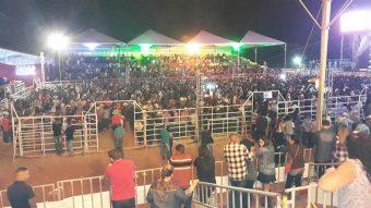 Público lotou o recinto da festa